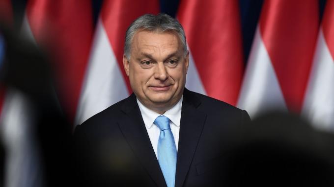 圖:AFP  匈牙利總理奧班