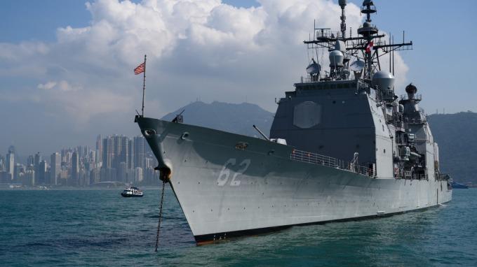 示意圖非當事軍艦 圖片來源:afp