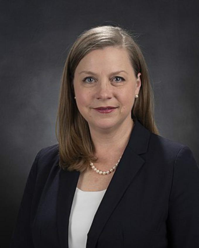 聯準會 (Fed) 理事鮑曼 (Michelle Bowman)。(圖:WIKI)