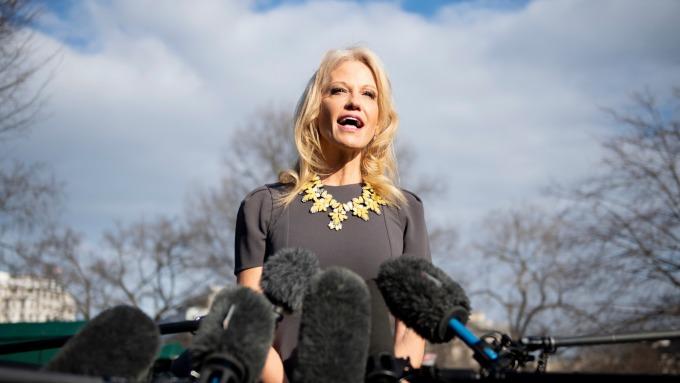 Kellyanne Conway(圖:AFP)