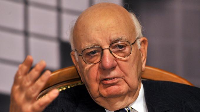 Fed前主席沃爾克。(圖:AFP)