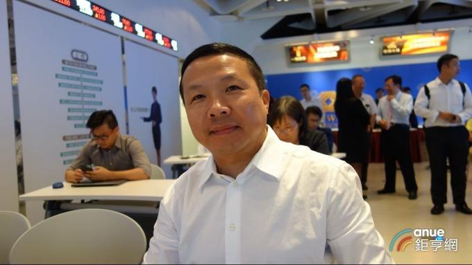 力達-KY總經理陳乙平。(鉅亨網記者張欽發攝)