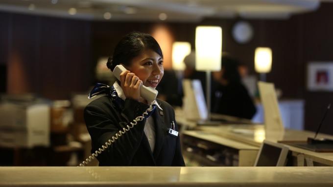 日本東急飯店首次來台招聘,起薪上看約台幣7萬元。(圖:國賓提供)