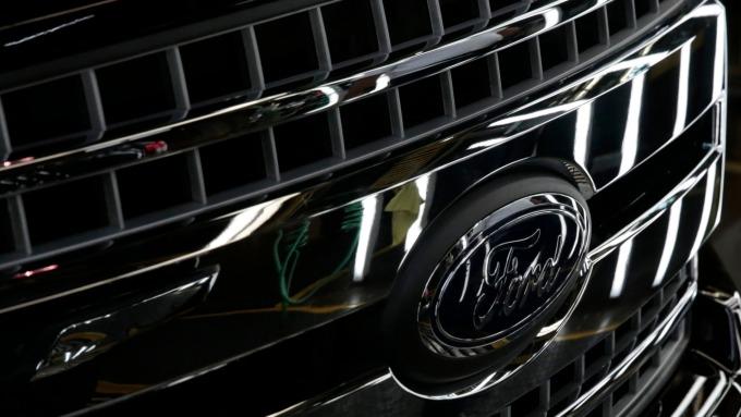 福特汽車(圖:AFP)