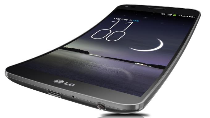 柔性面板近期大受關注,圖為LG產品(圖:AFP)
