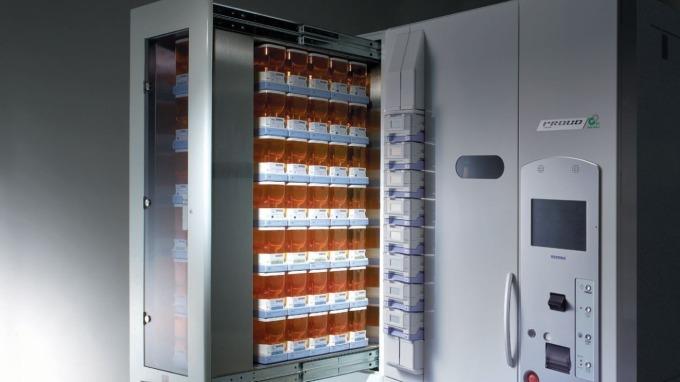 日本湯山製作所的藥品分包機 (圖:翻攝自湯山製作所官網)