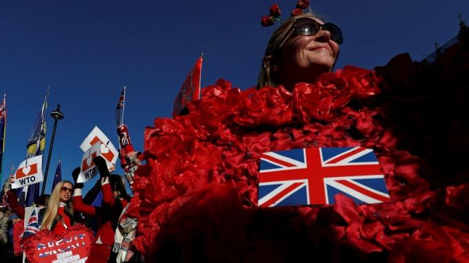 圖:AFP  英國脫歐 對英國衝擊重大