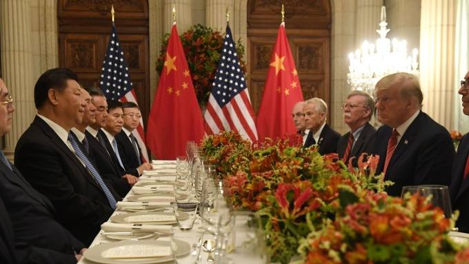去年底川習會後,美中雙方達成 90 天停戰協議。(圖:AFP)