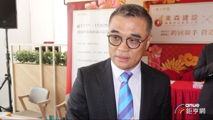 海悅國際總經理王俊傑。(鉅亨網記者張欽發攝)