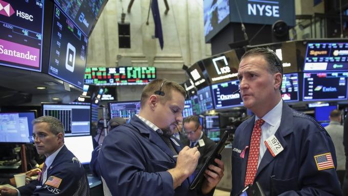 圖:AFP  美國股市恐仍將波動震盪