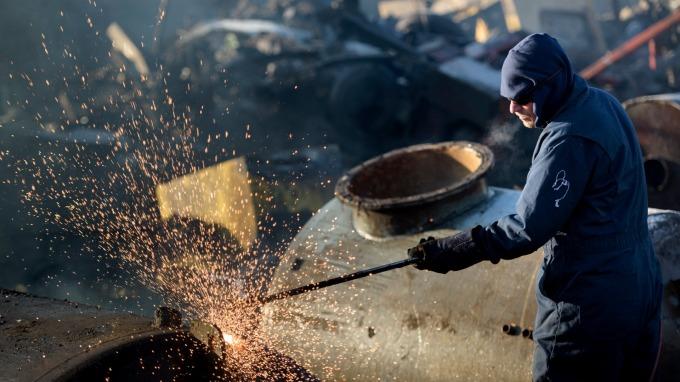 International scrap steel price rebounded and rose >4% in a week