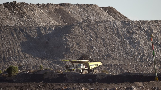 澳洲煤炭卡關中國(圖:AFP)