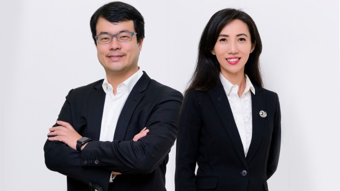 創業家兄弟董事長郭書齊(左)、總經理廖家欣(右)。(圖片:公司提供)