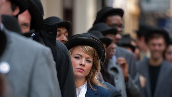 圖:AFP  英國即將脫歐 失業人數却減少