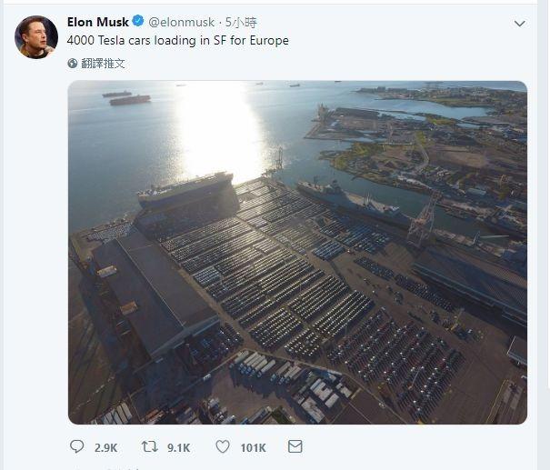 圖片來源:Elon Musk