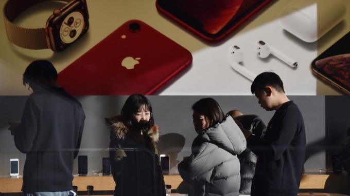 歹戲拖棚 高通籲美主管機關推翻法院判決 禁止部分iPhone進口。(圖:AFP)