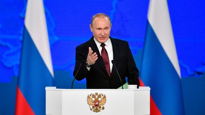 俄羅斯總統普丁 (Vladimir Putin) 。(圖:AFP)