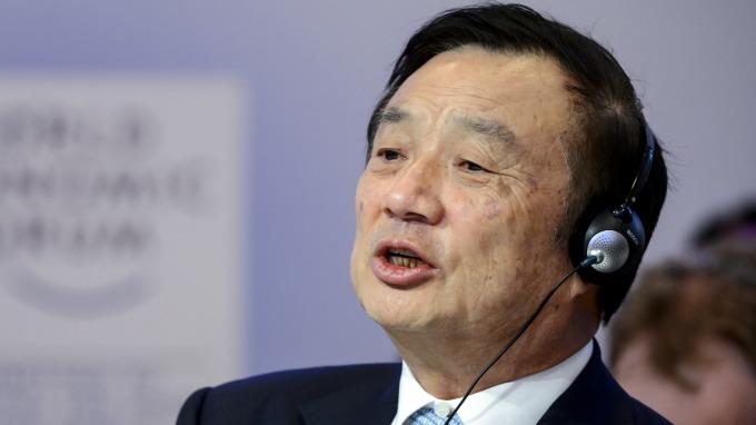 圖:AFP  華為總裁任正非