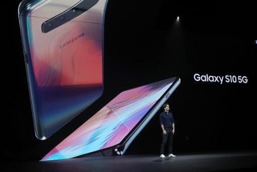 Galaxy S10 5G 圖:afp