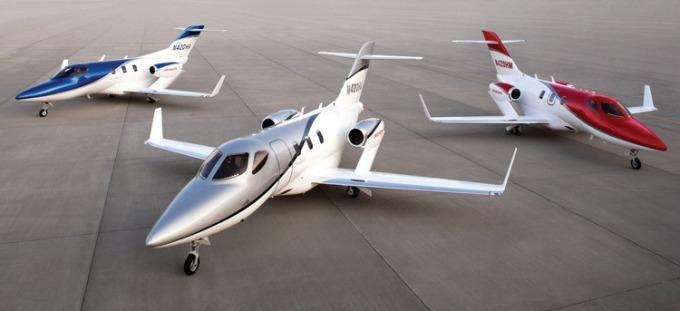 HondaJet (圖:翻攝自 HONDA 官網)