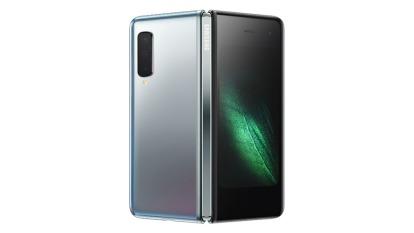 三星首款載折疊螢幕的Galaxy Fold成市場焦點。(圖片:三星提供)