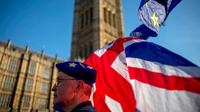 英國預定在2019年3月底脫歐 (圖:AFP)