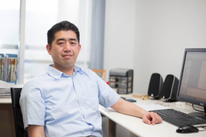馬偉雲,是一名對於「讓機器擁有理解語言的能力」深感著迷的計算機科學家。 攝影│張語辰