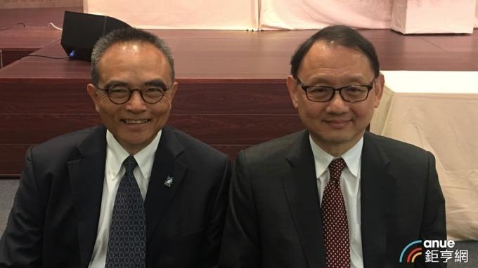 左起為華新總經理鄭慧明、董事長焦佑倫。(鉅亨網資料照)