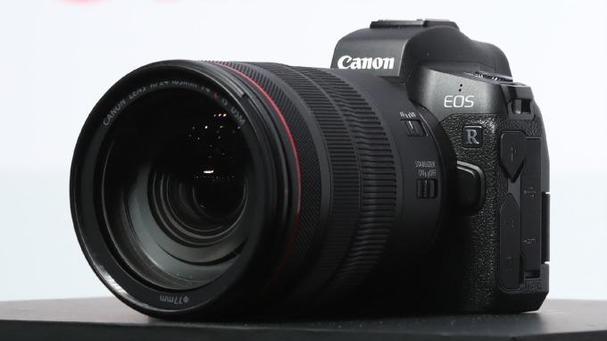 Canon EOS R 全幅無反 (圖:AFP)