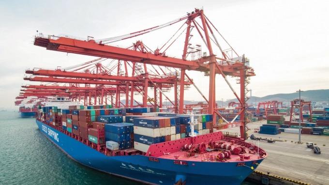 中國外交部否認大連港禁止進口澳洲煤炭的消息。(圖:AFP)