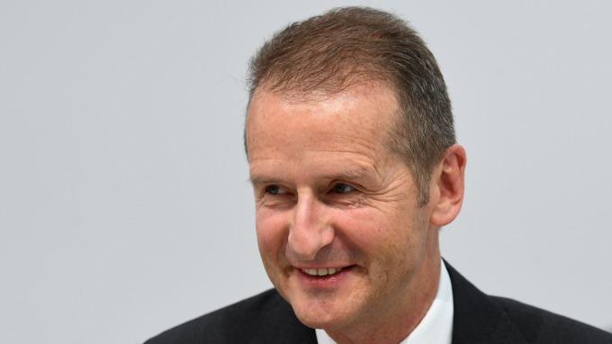 圖:AFP  VW汽車執行長廸斯