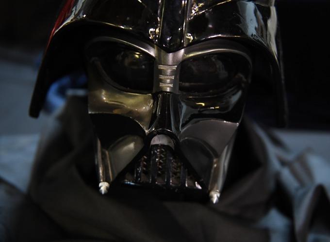 Darth Vader。(圖:AFP)