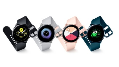 三星Galaxy Watch Active (圖:官網)