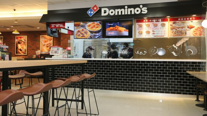 7-ELEVEN結盟達美樂開披薩複合店。(圖:統一超提供)