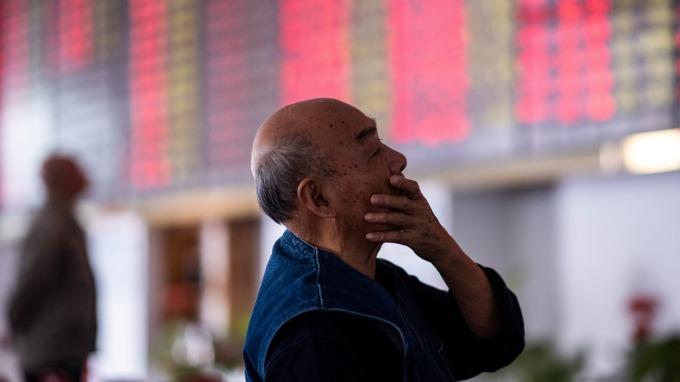 陸股飆升。(圖:AFP)