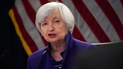 前聯準會 (Fed) 主席葉倫 (Janet Yellen)  (圖:AFP)
