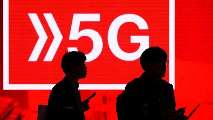 MWC處處均是5G身影(圖:AFP)