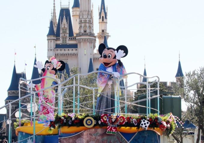 東京迪士尼樂園 (圖:AFP)