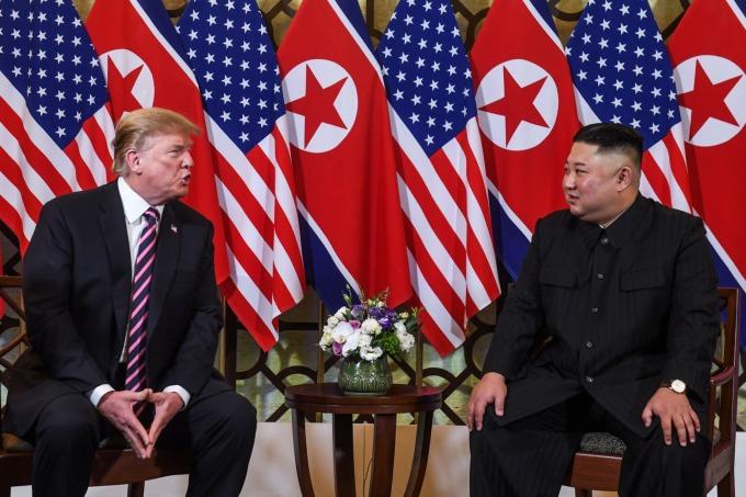 川普期待,川金二會能像首次峰會一樣成功。(圖:AFP)
