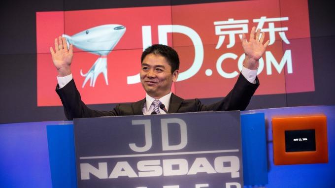 京東集團執行長劉強東 (圖:AFP)