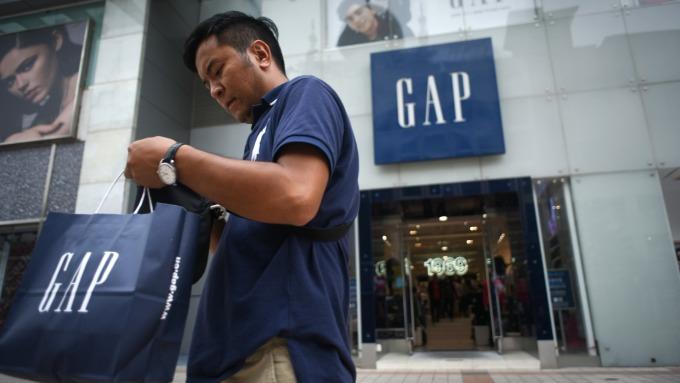Gap將分拆成兩公司 未來2年將關閉230家同名店面。(圖:AFP)