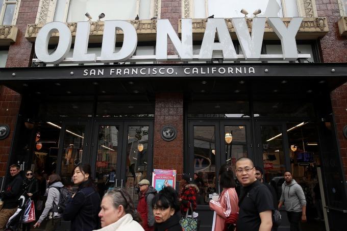 Old Navy將分拆成為一家獨立公司。(圖:AFP)