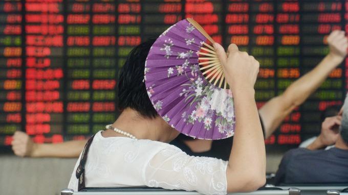 近期陸股漲勢強勁。(圖:AFP)