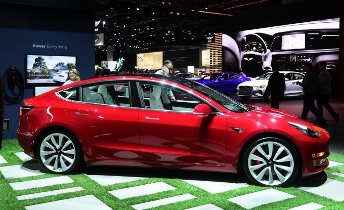 特斯拉 Model 3 (圖:AFP)