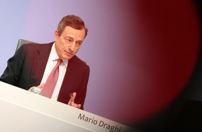 歐洲央行總裁德拉吉(圖:AFP)