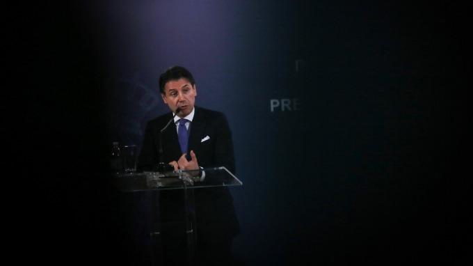 義大利總理孔蒂表示,參與中國一帶一路是個機會。(圖:AFP)