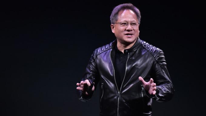 Nvidia執行長黃仁勳。(圖:AFP)