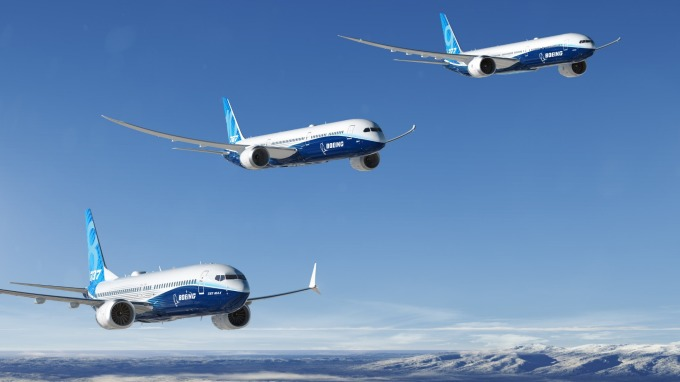 波音737 MAX型客機飛安問題受到國際關注。(圖:波音提供)