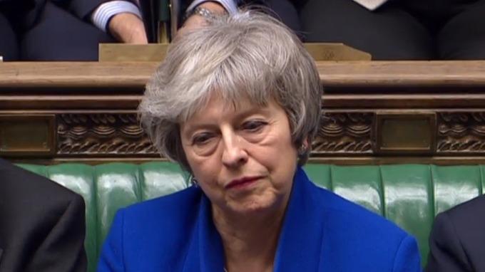 英國首相梅伊。(圖:AFP)