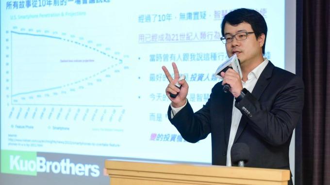 創業家兄弟共同創辦人暨董事長郭書齊。(圖:創業家提供)